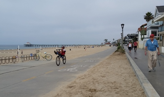 Manhattan Beach Strand & Bike Trail