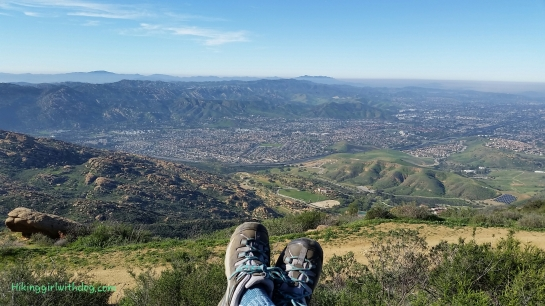 View of Simi Valley from Rocky Peak