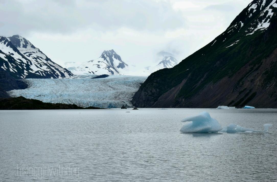 Grewingk Glacier Lake