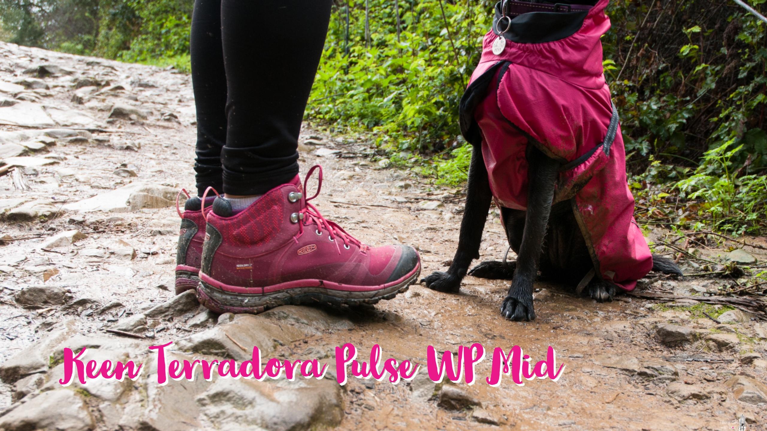 KEEN Womens Terradora Leather Mid Wp Hiking Boot
