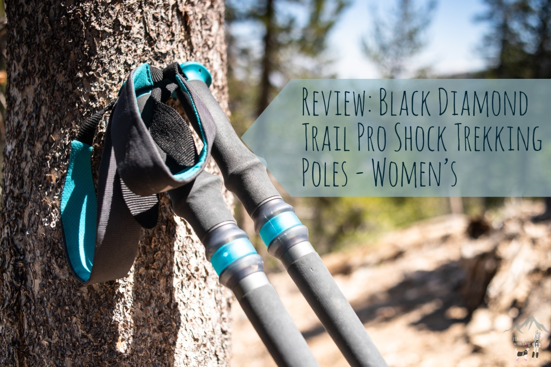 Women's Black Diamond Trail Pro Shock Trekking Poles Review