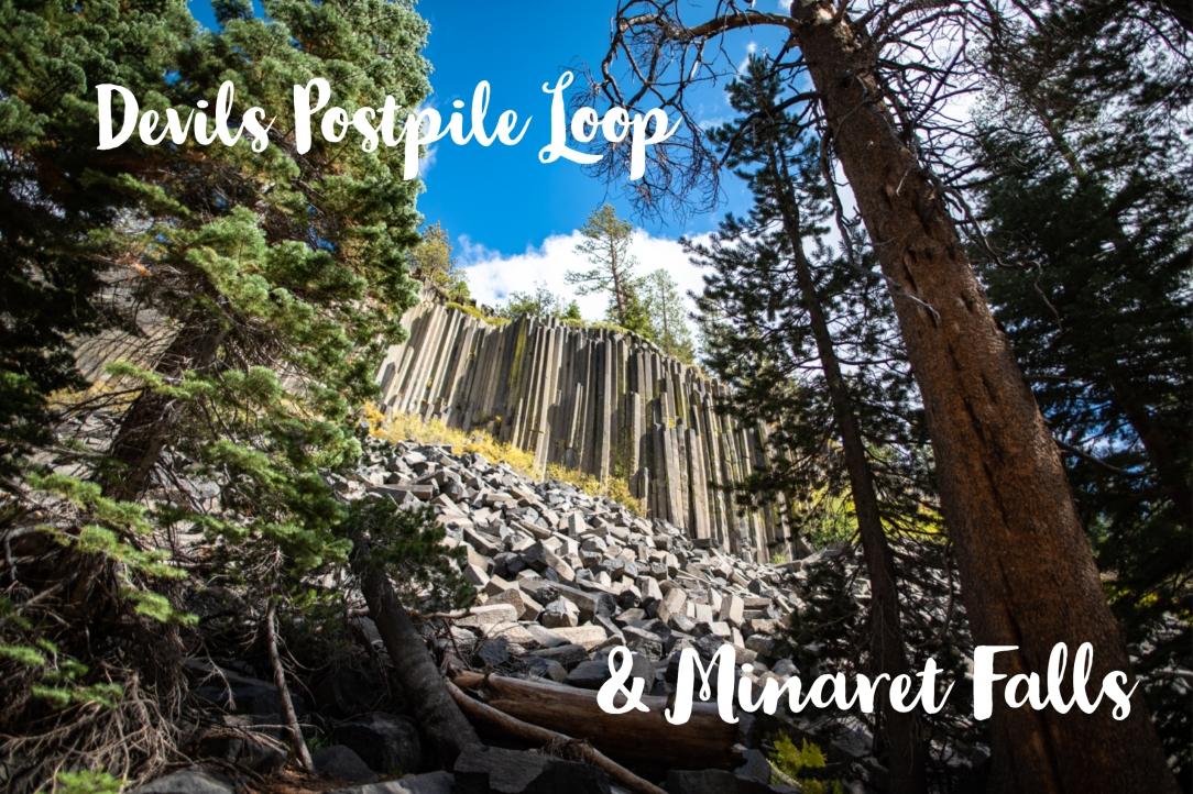 Devils Postpile Minaret Falls