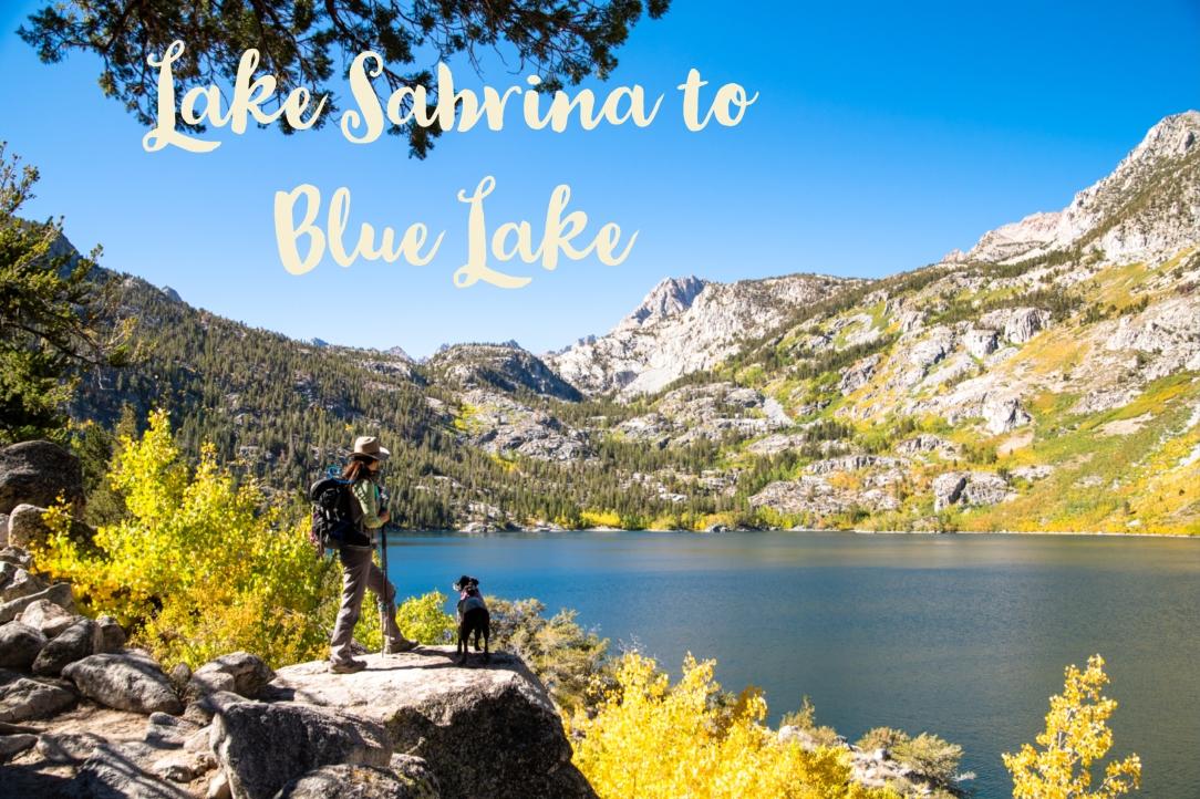 Lake Sabrina to Blue Lake
